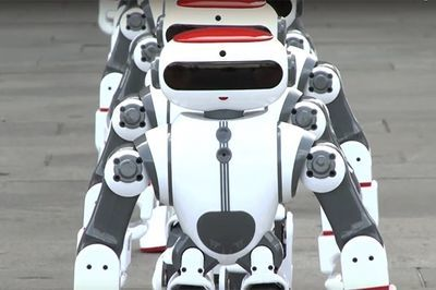 Video: The Robot Army Is Coming...
