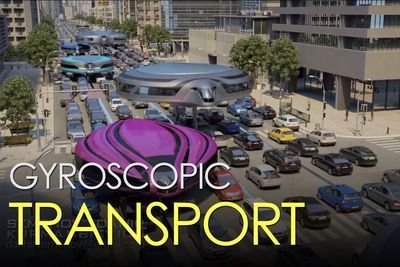 Video: Gyroscopic Transportation Is A Vision Of The Future!