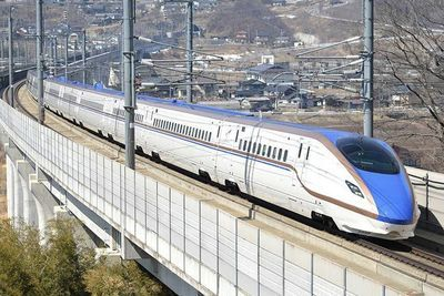 Video: This Is How Japanese High-speed Trains Handle Earthquakes...