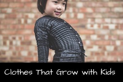 Video: Clothes That Grows With Kids...