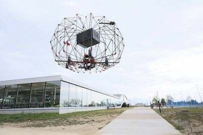 Video: Origami-inspired Delivery Drone...