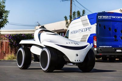Knightscope's New Robot Looks Like A Mini Concept Car!