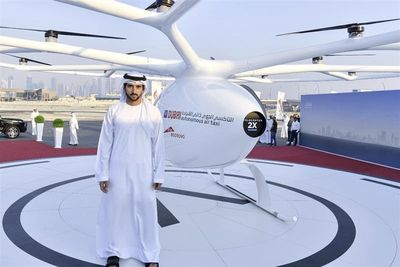 Volocopter Flying Taxi Takes To The Skies In Dubai!