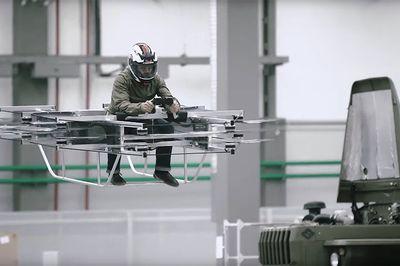 Video: Kalashnikov Unveils A New Electric-powered Flying Car!