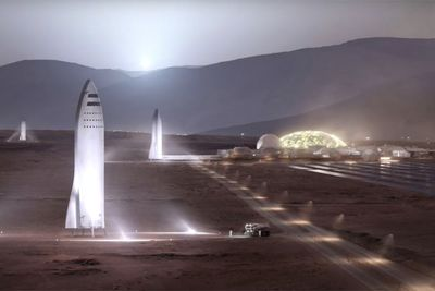 Video: Elon Musk Presents Updated Plan For Mars Mission