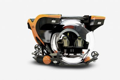 The U-boat Worx Cruise 5-1700 Is A Personal Sub!