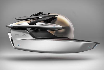 Aston Martin And Triton Unveils Project Neptune