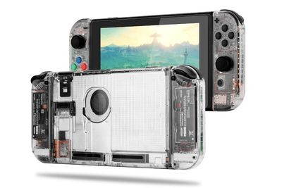 Video: You Can Make A Beautiful, Transparent Nintendo Switch. Here Is How...