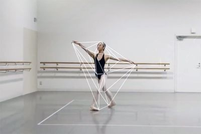 Video: Ballerina's Mesmerising Movements Traced By An Algorithm