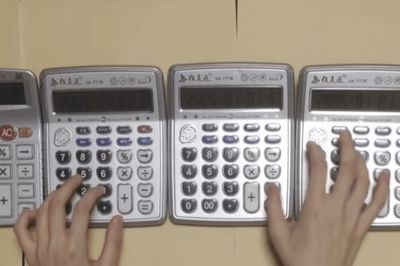 Video: Some Calculator Genius Nailed The Super Mario Bros Theme Song!