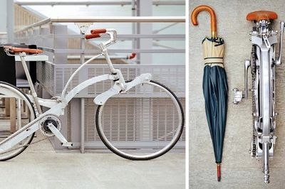 Video: This Bike Folds Down To The Size Of An Umbrella