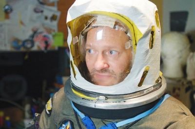 Video: Meet The Man And His Diy Space Suit