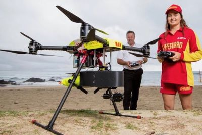 Video: These Lifesaver Drones Will Soon Be Able To Warn You Of Sharks In The Water