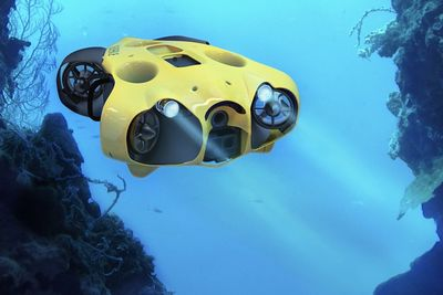 Video: A Submarine Drone That Follows You Around Underwater