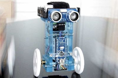 Video: T-bots Is A Two-wheeled Balancing Robot That's Easy To Program!