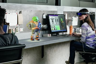 Microsoft Gets Sued Over Hololens Patent