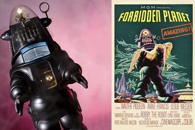 Video: Robby The Robot Sells For $5.3 Million