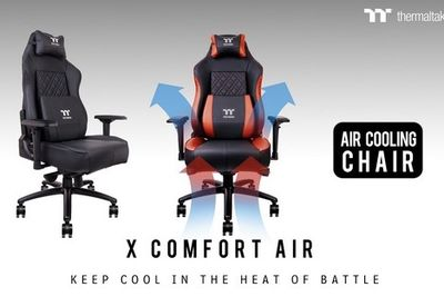 A Special Gamer Chair That Will Cool Your Sweaty Ass