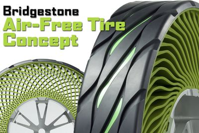 Video: Bridgestone Have Developed 'air-free' Tyres