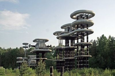 Video: Futuristic 'tesla Towers' In Abandoned Woods Near Moscow