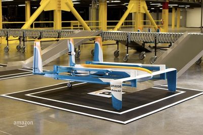 Amazon Patents Self-destructing Drones
