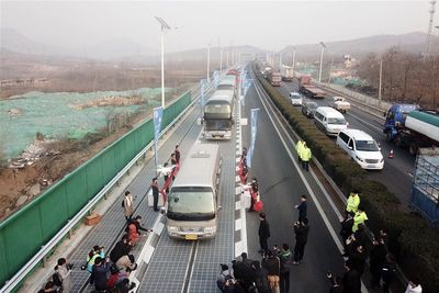 Video: Introducing The World's First Solar Highway In China
