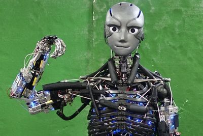 Video: A Humanoid Robot That Can Actually Sweat While Exercising...