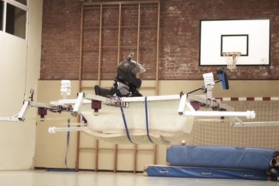 Video: You Have Not Seen Everything Till You've Seen A Flying Bathtub