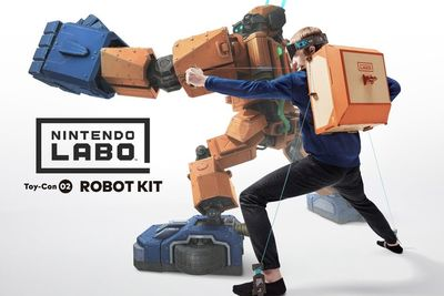 Video: Nintendo Switch Launches Diy Robot Kits, Just Take My Money!