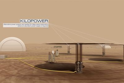Video: How To Power A Habitat On Mars With 'kilopower'