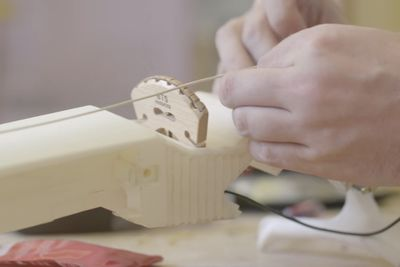 Video: Three Students Spent A Year Printing And Designing A 3d Six-string Violin