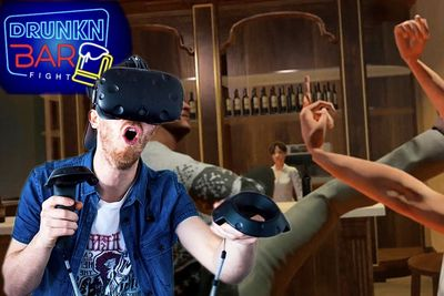 Video: Drunk, Bar Fights, Virtual Reality. Sounds Like A Party!