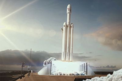 Video: Elon Musk Launches Animation Of Spacex Falcon On Route To Mars