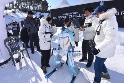 Video: Robots Compete In Their Own Ski Tournament