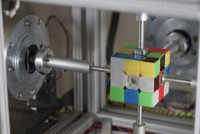 Video: This Robot Solves A Rubik's Cube In 0.38 Seconds