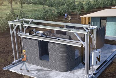 Video: 3d Print A Home In Just 24 Hours