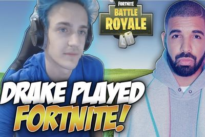 Drake Gave Ninja $5,000 For Winning A Game Of Fortnite