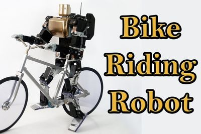 Have You Seen This Robot That Can Ride A Bicycle...