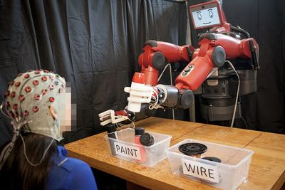 Scientists Are Controlling Robots With Their Minds