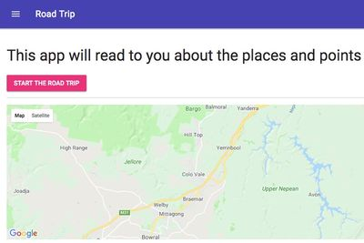 This App Reads All The Information About Cities To You