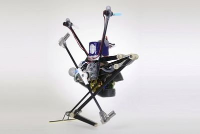 This Is One Hyper-aggressive Pogo-stick Robot