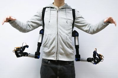 This Is The Power Of Having Extra Robotic Arms
