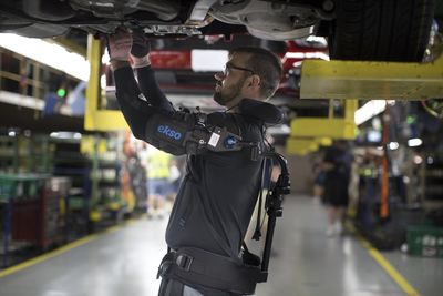 Ford makes their exoskeleton available to the rest of the world