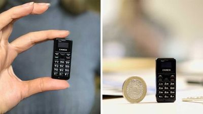 The Zanco Tiny Is The World's Smallest Phone