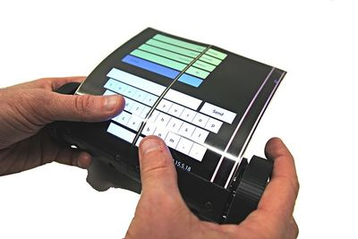 This is A Flexible, Touch-Screen Tablet