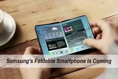 What To Know About Samsung's Foldable Smartphone