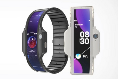 What If A Smartphone Can Wrap Around Your Wrist?