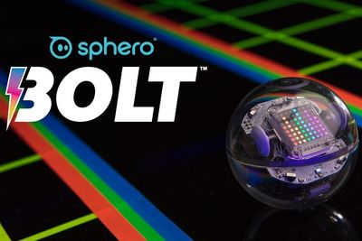 The Sphero Bolt Has A Programmable LED Display And Infrared Sensors