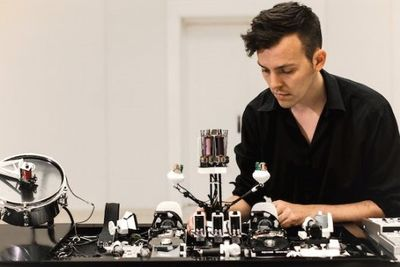 Watch These Robots Make Beautiful Music Together