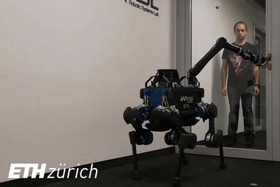 Robot Dog Gets An Extra Arm To Be Humanity's Best Friend